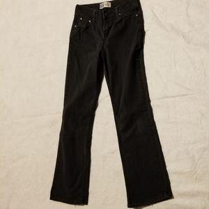 Levi's midrise bootcut jeans